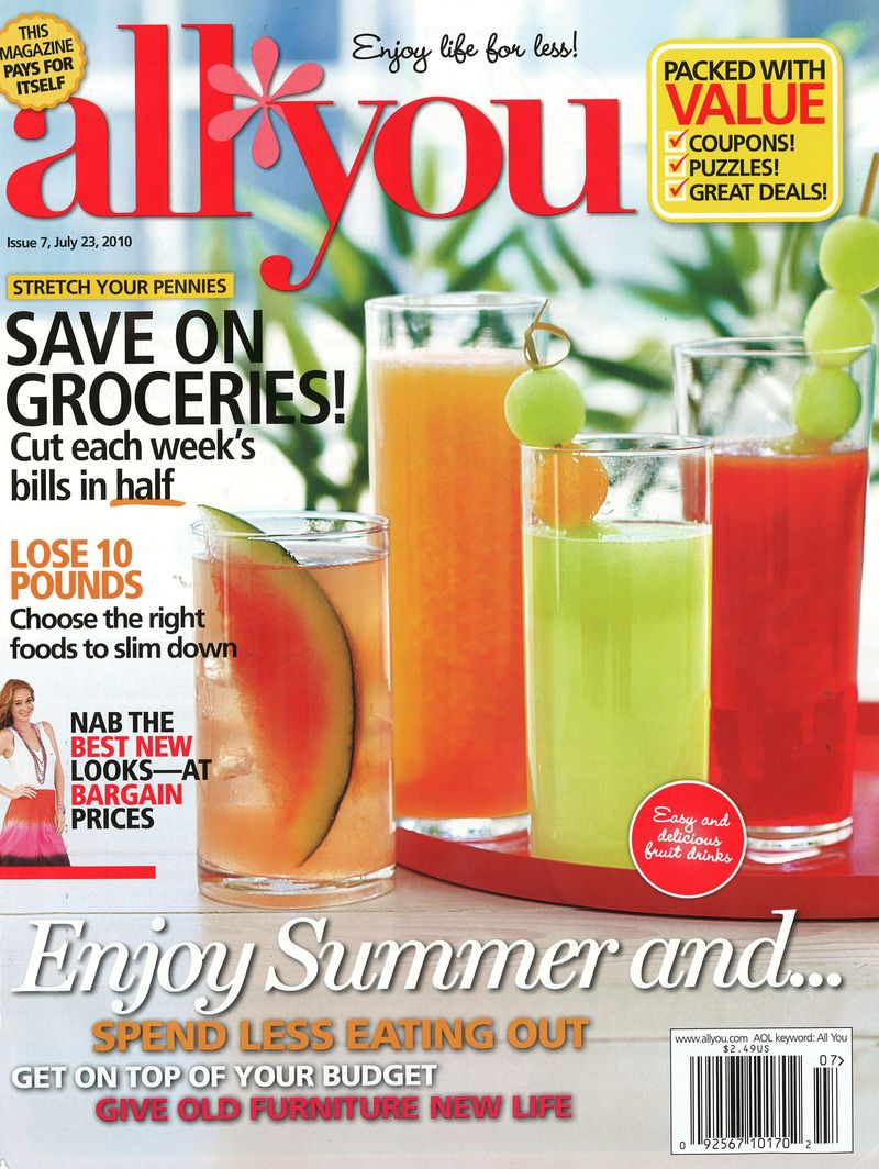 All You July 2010 Cover
