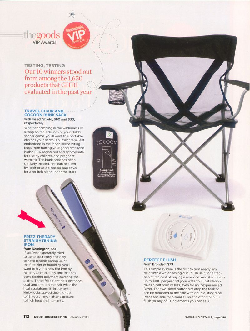 Good Housekeeping - Feb 2010 _ Placement