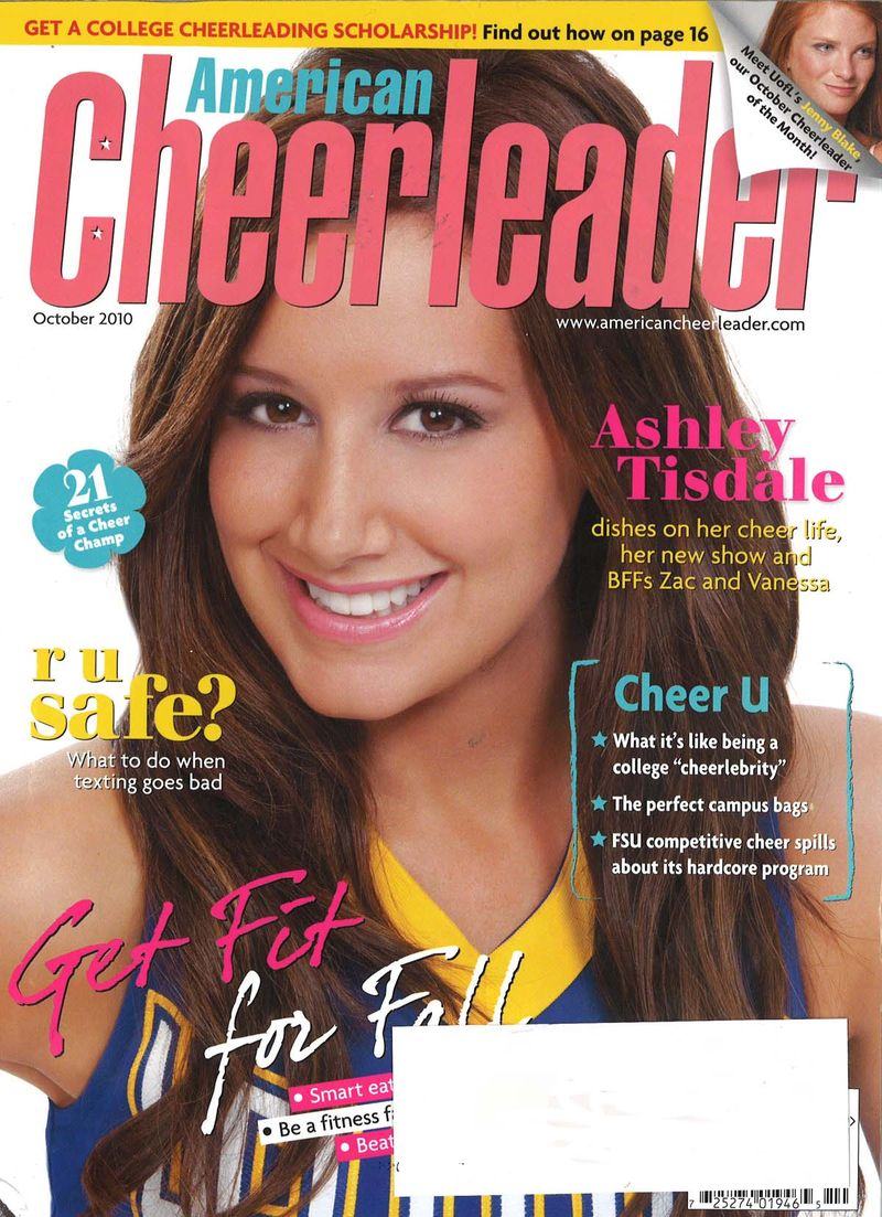 American Cheerleader Oct 2010 Cover