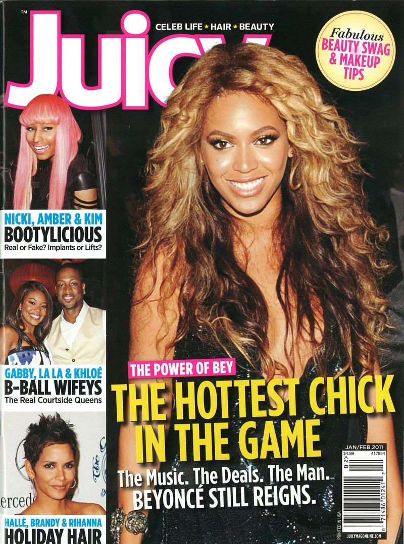 Juicy Jan Feb 2011 Cover