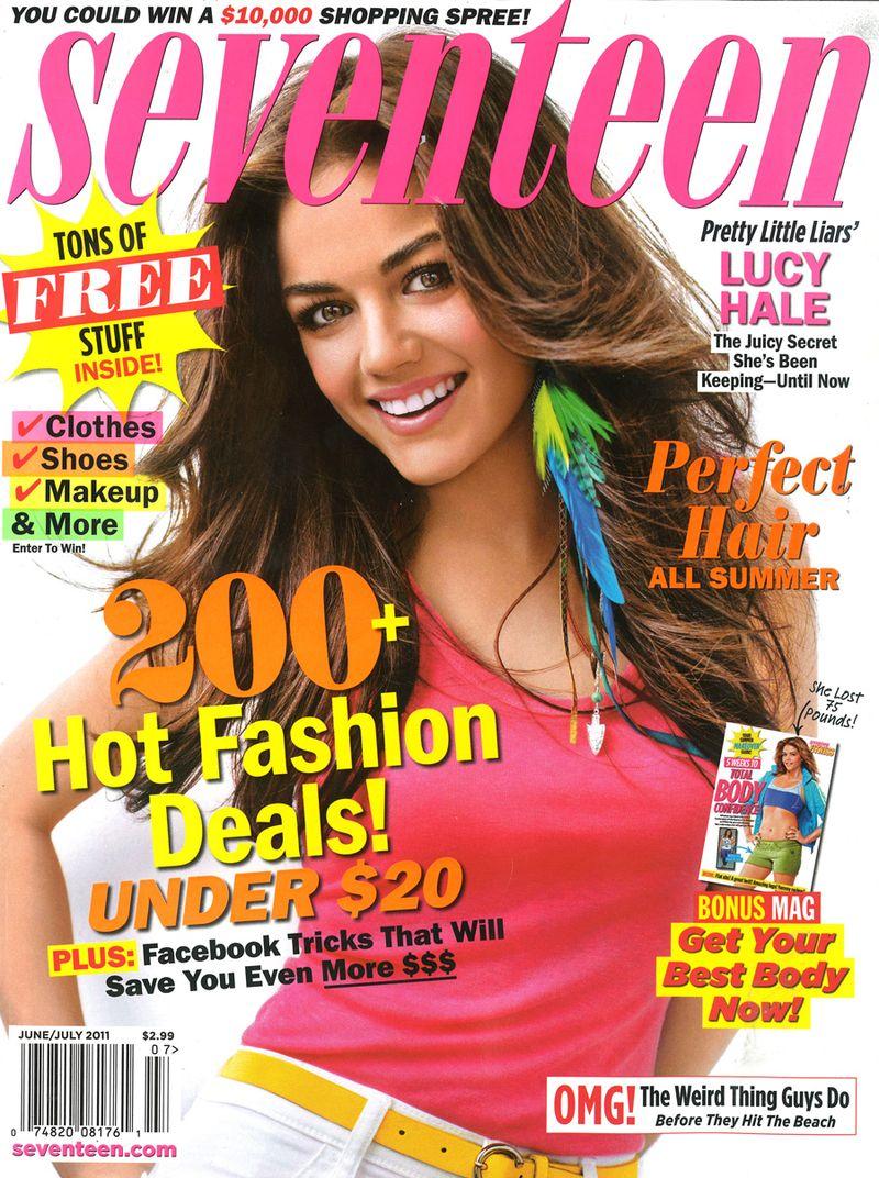 Seventeen - June 2011 - Cover