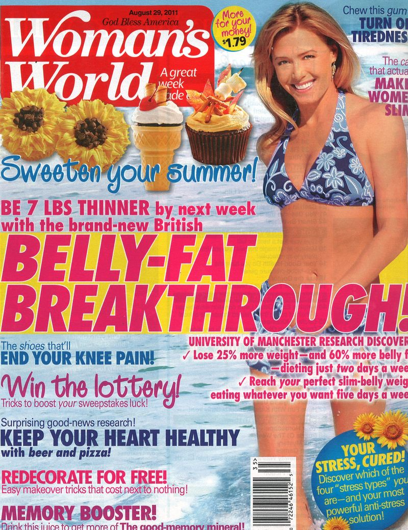 Woman's World Aug 29 11 Cover