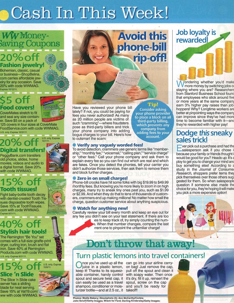 Woman's World Aug 29 11 Placement