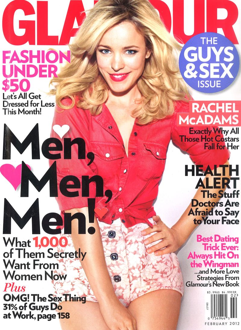 Glamour February 2012 Cover