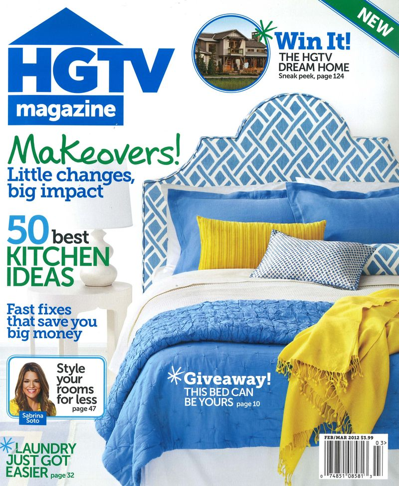 HGTV FebMarch 2012 Cover